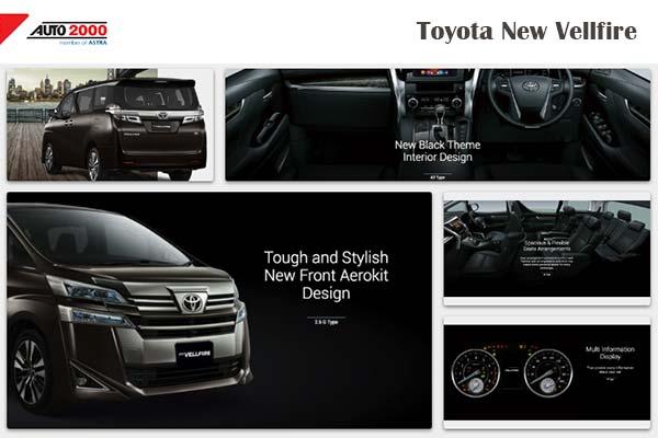 Toyota Vellfire Mobil MPV Premium