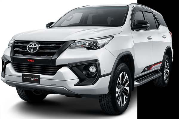 Harga Fortuner Medan 2019 di Auto2000