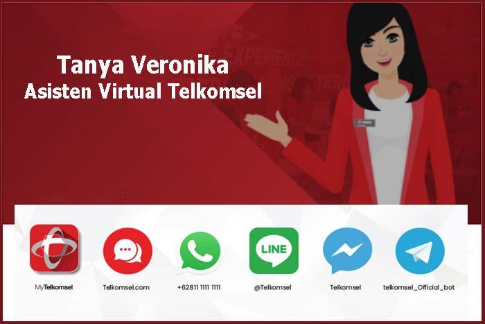 Cara Tanya Veronika Asisten Virtual