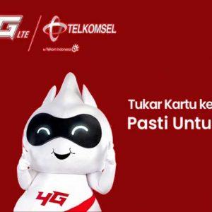 Kartu Seluler 4G Telkomsel